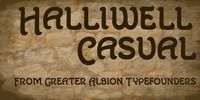 Halliwell Casual™ Font Download