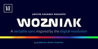 Wozniak Font Download