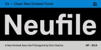 Neufile Grotesk Font Download