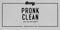 PRONK Clean Font Download