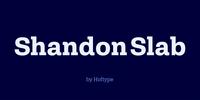 Shandon Slab Font Download