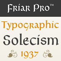 Friar Pro Poster