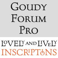 Goudy Forum Pro