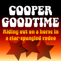 Cooper Goodtime flag by Bob Alonso