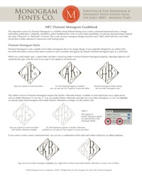 Diamant Monogram Guidebook
