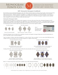 Moissanite Monogram Guidebook
