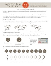 Tryst Monogram Guidebook