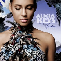 Alicia Keys Element of Freedom album cover by unknown