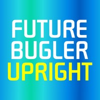 Future Bugler Upright Flag by Harry Warren