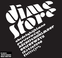 Dime Store in Slanted by John Bomparte