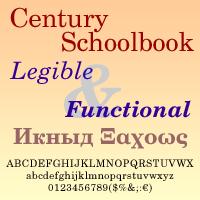 Century Schoolbook DT