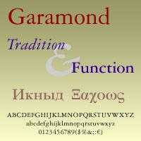 Garamond DT