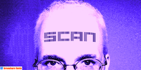 Scan forehead poster by Harry Warren/John Bomparte