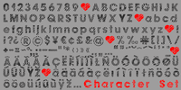 Zebramatic All Glyphs by Harald Geisler