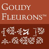 Goudy Fleurons