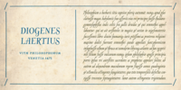 oldstyle latin text with abbrevations and ligatures