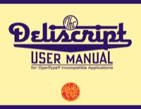 Deliscript Alt User Manual by Michael Doret