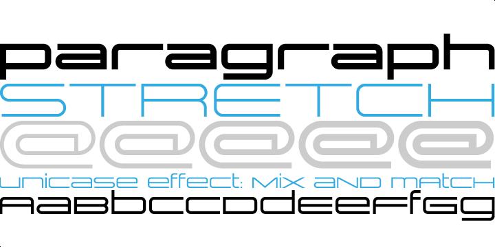 Image result for stretched fonts