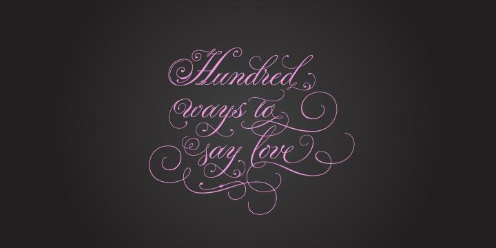 А є в нас автори каліграфічних шрифтів