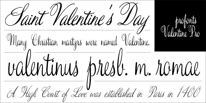 Schön Valentine™   Webfont U0026 Desktop Font « MyFonts