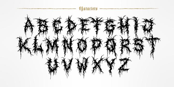 tag  quot death metal quot   u00ab myfonts Heavy Metal Sign Slipknot Logo
