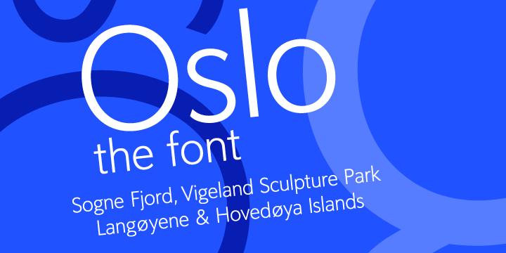 Oslo | Webfont & Desktop font | MyFonts