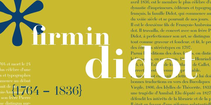 Firmin Didot | Webfont & Desktop font | MyFonts