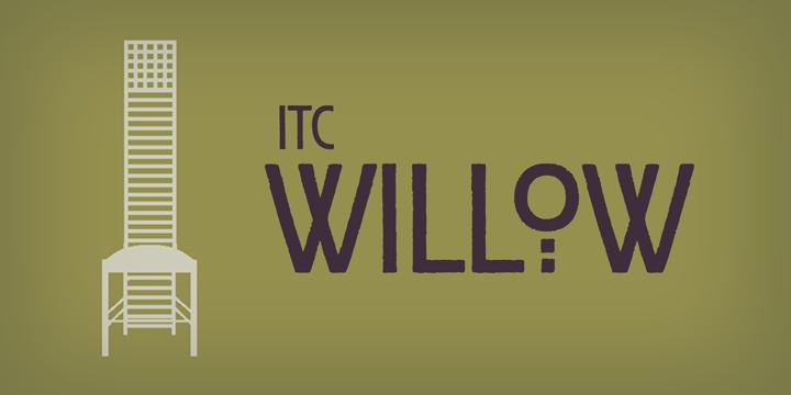 ITC Willow™ - Webfont & Desktop font « MyFonts