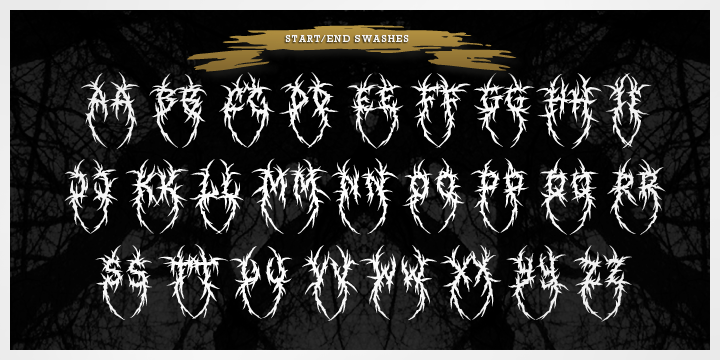 xxii total death webfont desktop font myfonts rh myfonts com death metal logo maker death metal logo generator online