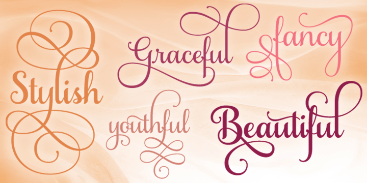 Features of Samantha Script Font Family