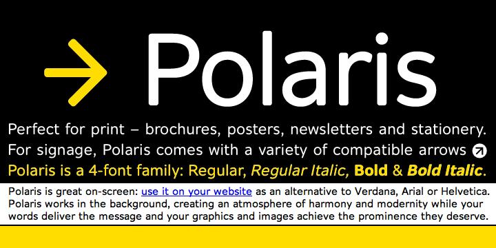 Polaris | Webfont & Desktop font | MyFonts