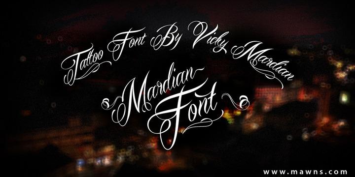 Vicky Mardian « MyFonts