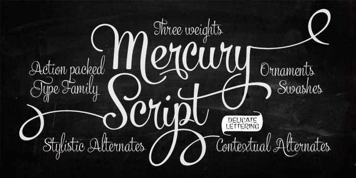 mercury-script-typeface