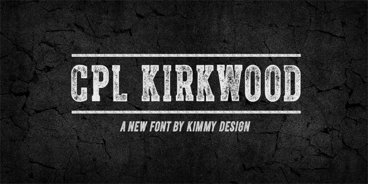 CPL Kirkwood   Webfont & Desktop font   MyFonts