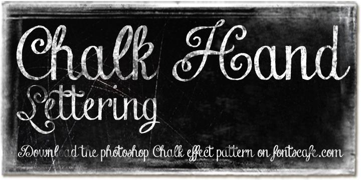 Chalk Hand Lettering | Webfont & Desktop font | MyFonts