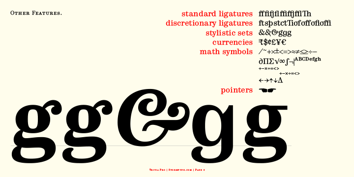 Trivia serif 10 шрифт