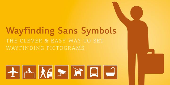 Wayfinding Sans Symbols