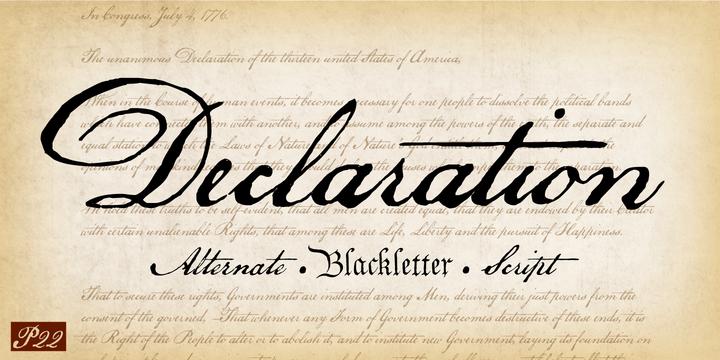 p22 declarationâ webfont desktop font myfonts
