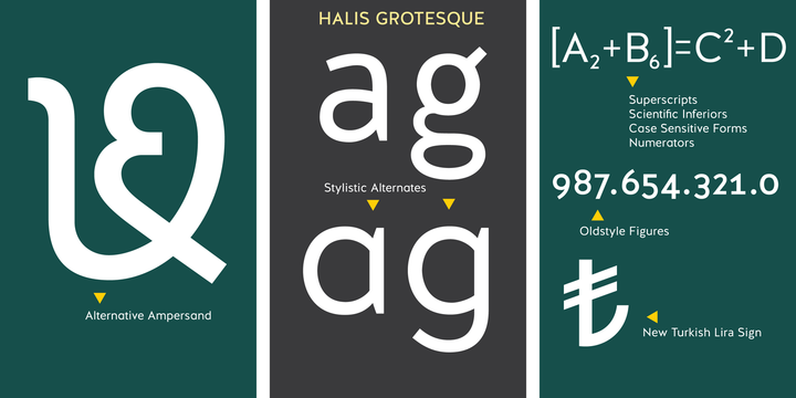 halis rounded bold font