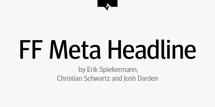 font meta book free