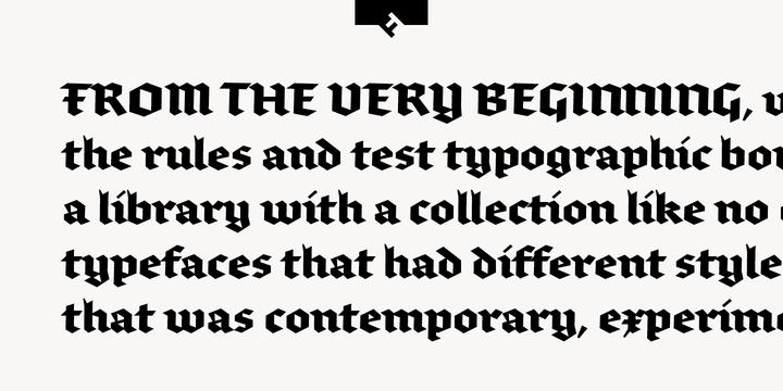 brokenscript font