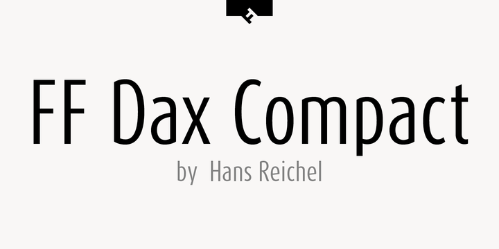 FF Dax Compact | Webfont & Desktop font | MyFonts
