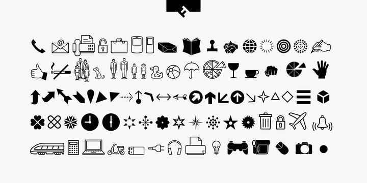FF Dingbats 2 0 | Webfont & Desktop font | MyFonts