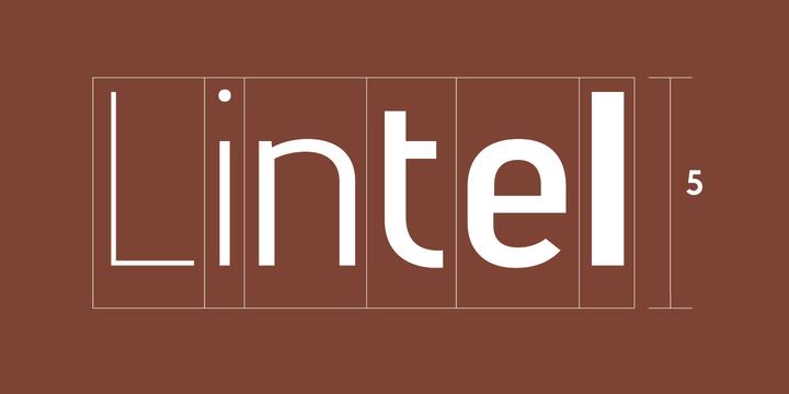 Lintel Font Download