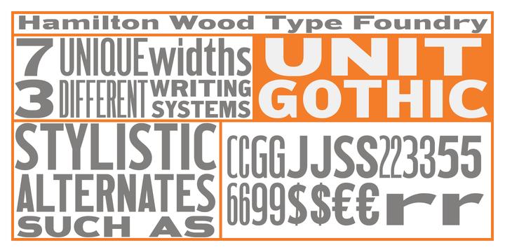 Hamilton Wood Type Foundry « MyFonts
