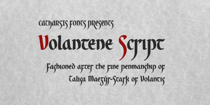 Volantene Script | Webfont & Desktop font | MyFonts