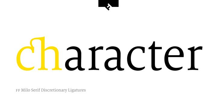 FF Milo Serif | Webfont & Desktop font | MyFonts