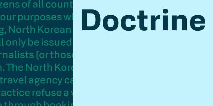 Doctrine | Webfont & Desktop font | MyFonts
