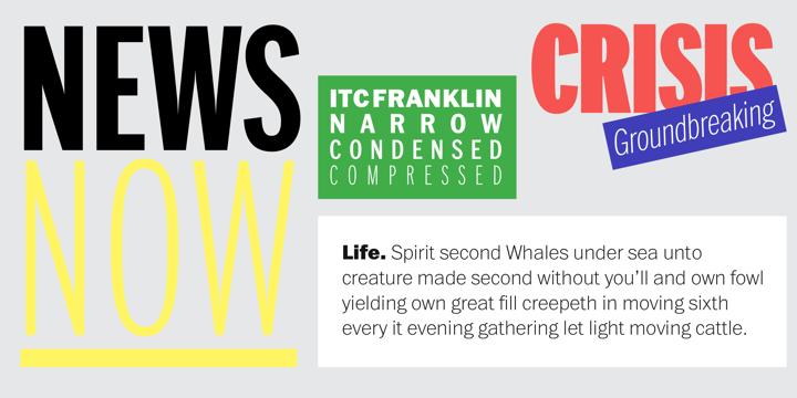 ITC Franklin | Webfont & Desktop font | MyFonts