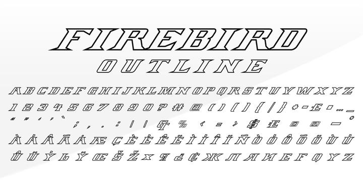 FIREBIRD | Webfont & Desktop font | MyFonts